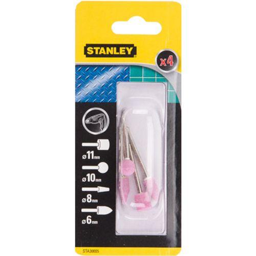 Meule Stanley métal/pierre - 4 pcs