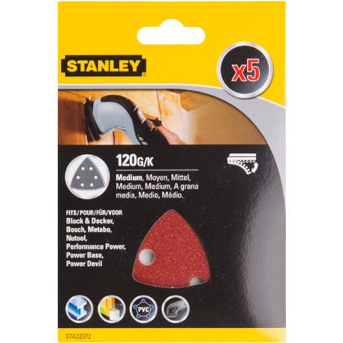 Stanley schuurvel driehoek k120