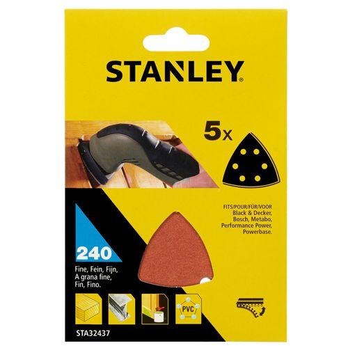 Feuille de ponçage Stanley triangle K240