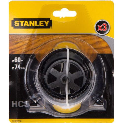 Stanley gatzaag 3 x (60,67,74) alu 30mm