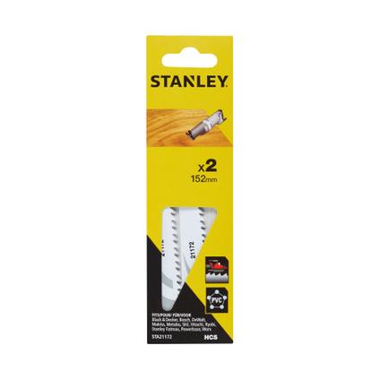 Lame de scie réciproque Stanley bois/plastique 152 mm