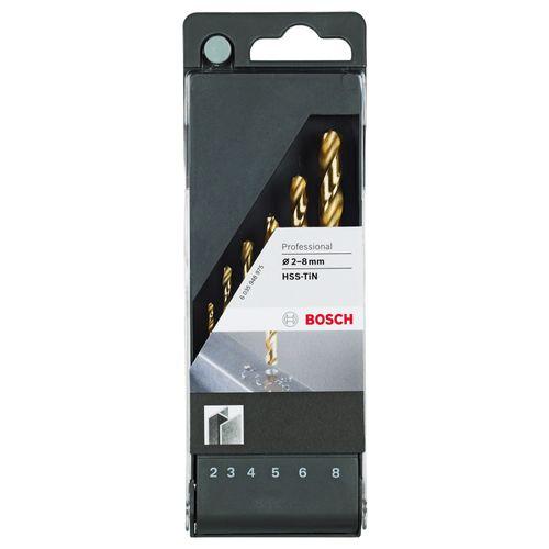 Bosch metaalboor 'HSS Tin' - 6 stuks
