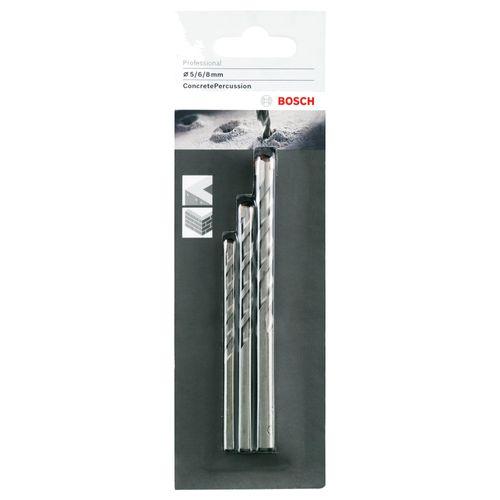 Set de forets béton Bosch 'Profiline' - 3 pcs
