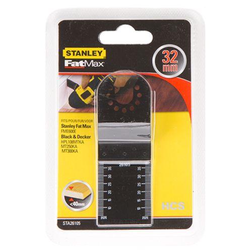 Lame de scie plongeante Stanley 'STA26105-XJ' HCS 32 x 40 mm