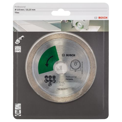 Bosch Profiline disque diamanté top pour carrelage, 115mm