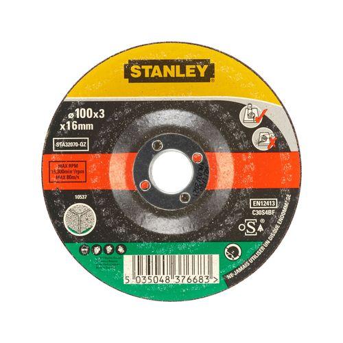 Disque à tronçonner Stanley 100 x 16 mm
