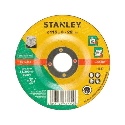 Disque à tronçonner Stanley 115 x 22 mm