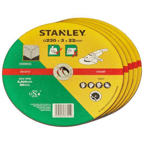 Disque à tronçonner Stanley 'FatMax' pierre 230 mm