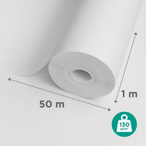 Sencys glasweefselbehang ruit groot 50m