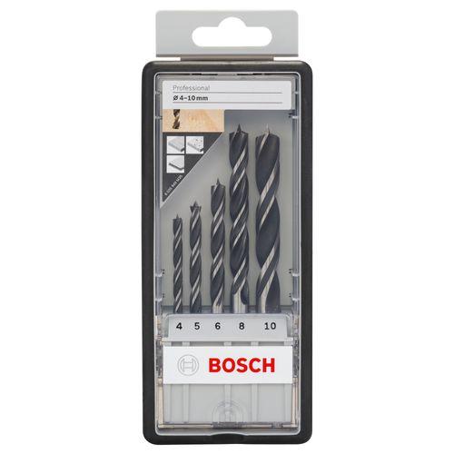 Set mèches à bois Bosch 'Robustline' - 5 pcs