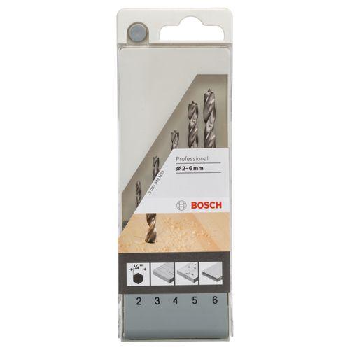 Set mèches à bois Bosch - 5 pcs