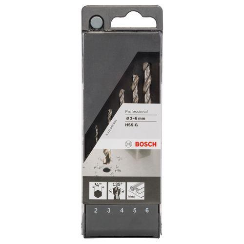 Foret hexagonal Bosch métal - 5 pcs