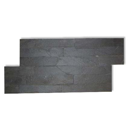 Decor steenstrip 'Canyon' zwart 20 x 40 cm