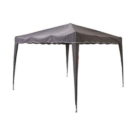 Central Park partytent Quick Up vouwbaar antraciet 2,9x2,9m