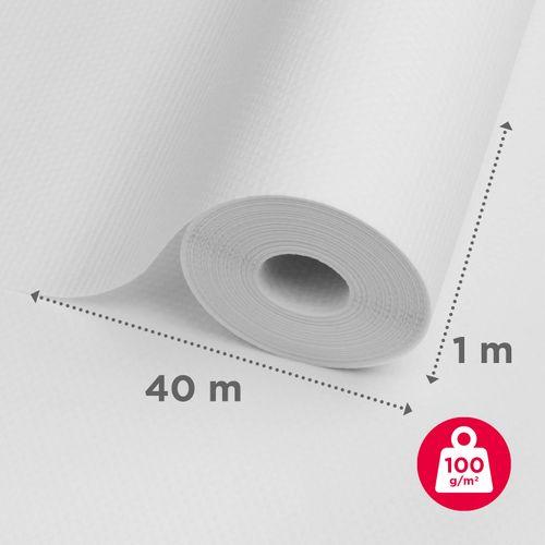 Baseline glasweefselbehang ruit 40m