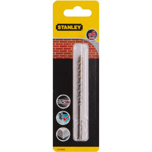 Stanley steenboor 6mm