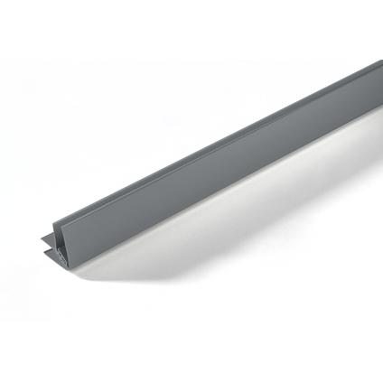 Grosfillex binnen- en buitenhoekprofiel PVC grijs 260cm