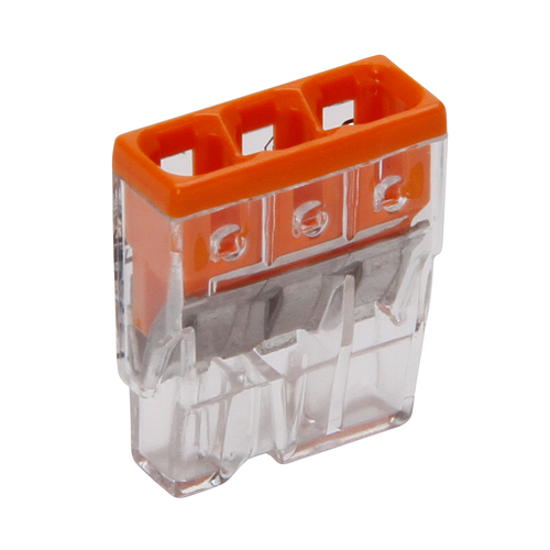 WAGO Steekklem 3x0,5-2,5mm² 10 stuks