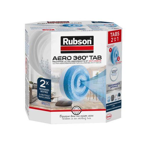Rubson Navullingen vochtopnemer AERO 360 Neutraal 2 stuks