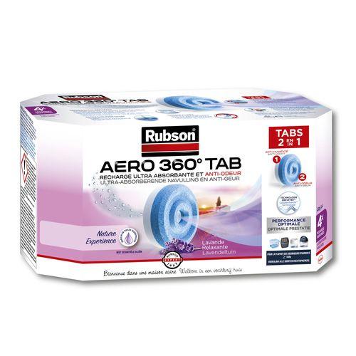Rubson Navullingen vochtopnemer AERO 360 Lavenderl 4stuks