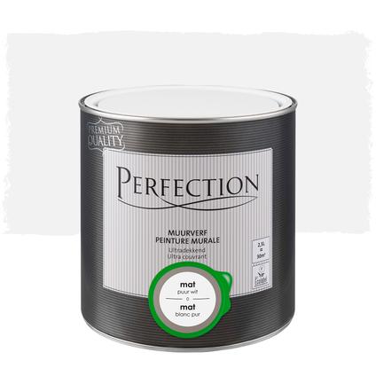 Perfection muurverf ultradekkend mat puur wit 2,5L