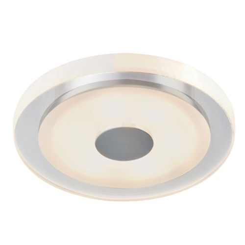 Premium Inbouwspot set Whirl rond LED 3x6W 18VA 350mA 150mm alu gedraaid/zijdeglans alu/acryl