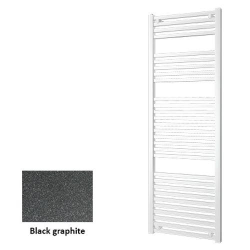 Plieger designradiator Roma black graphite 176cm