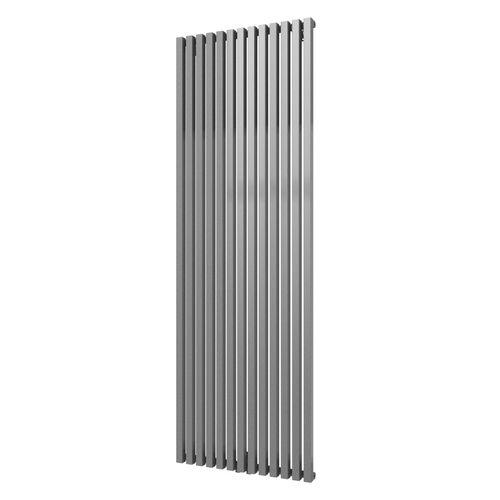 Plieger designradiator Siena enkel 1800x606mm 1422W zilver metallic