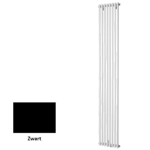 Plieger designradiator Venezia enkel zwart 30cm