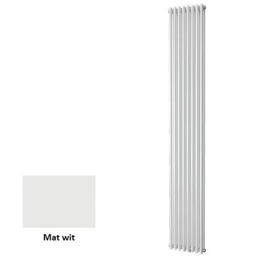 Plieger designradiator Venezia dubbel mat wit 30cm