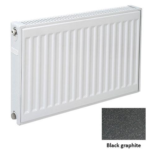 Plieger paneelradiator Compact 11 black graphite 40 x 80 x 7cm