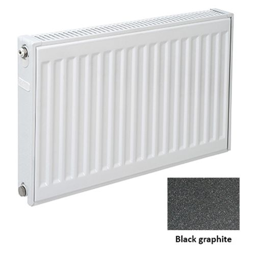 Plieger paneelradiator Compact 11 black graphite 50 x 40 x 7cm