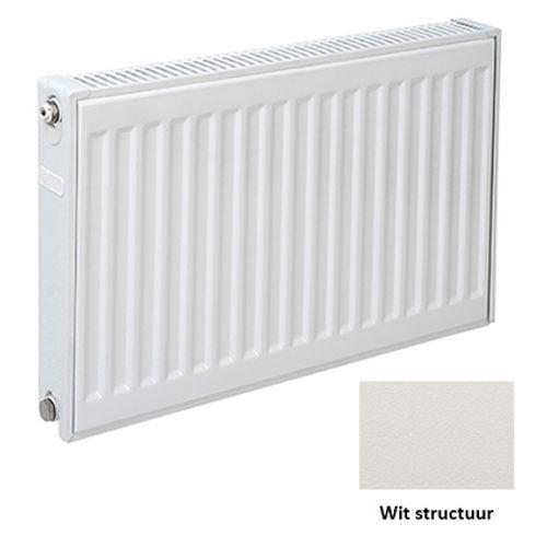 Plieger paneelradiator Compact 11 wit structuur 60 x 120 x 7cm