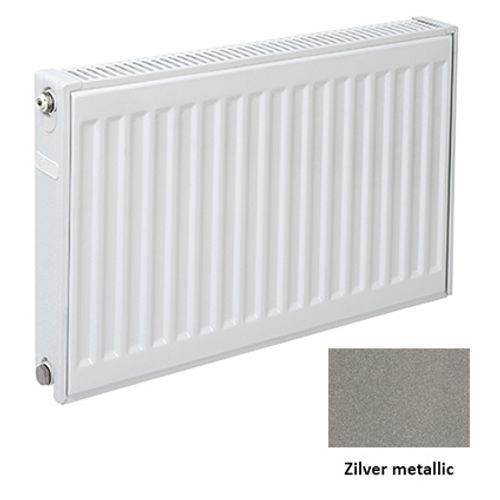 Plieger paneelradiator Compact 11 zilver metallic 60 x 120 x 7cm