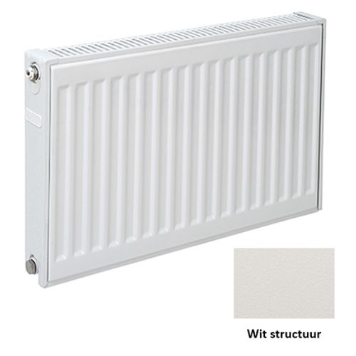 Plieger paneelradiator Compact 11 wit structuur 60 x 40 x 7cm