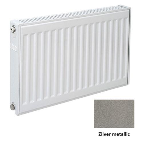Plieger paneelradiator Compact 11 zilver metallic 90 x 60 x 7cm
