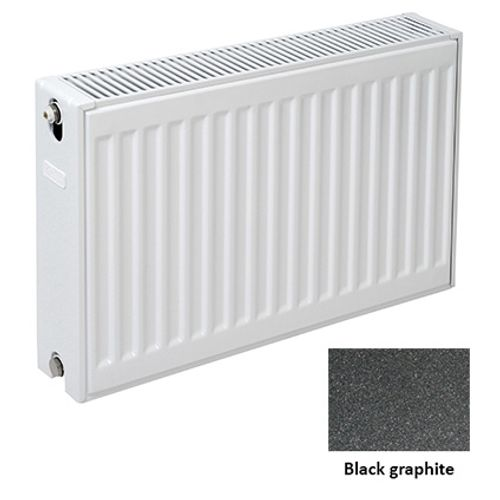 Plieger paneelradiator Compact 22 black graphite 60 x 120 x 10,5cm