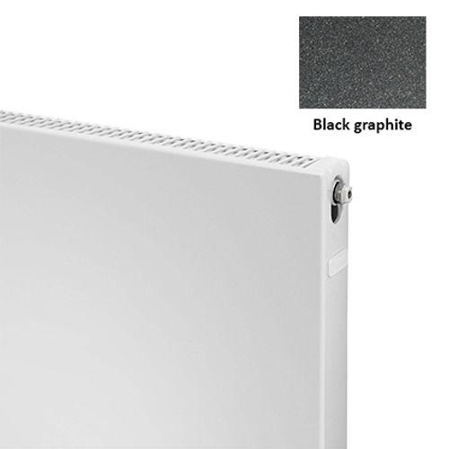 Plieger paneelradiator Compact vlak 11 black graphite 50 x 40 x 7cm