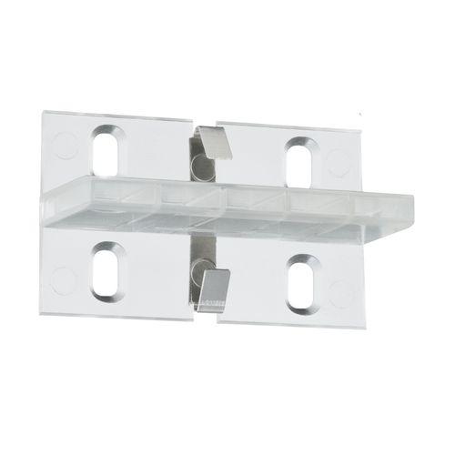 Paulmann Duo Profilverbinder Function transparant kunststof - 4 stuks
