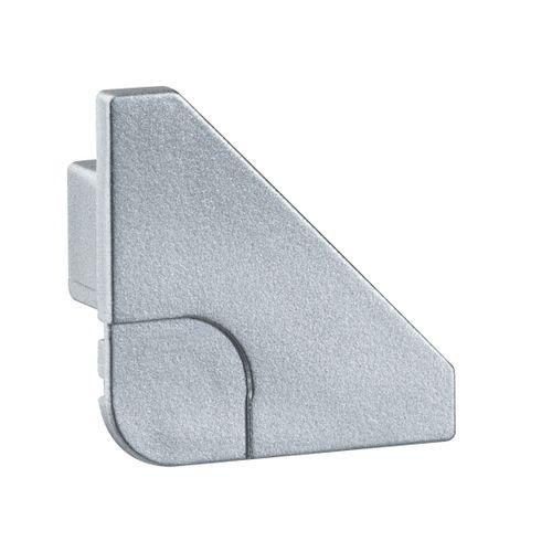 Paulmann eindkap Delta Profil aluminium - 2 stuks