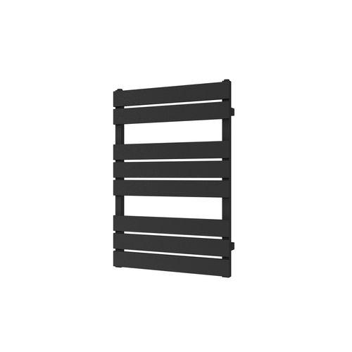Plieger designradiator Genua horizontaal 800x550mm 405W zwart grafiet