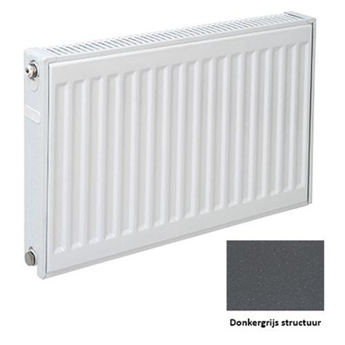 Plieger paneelradiator Compact 11 donkergrijs structuur 50 x 80 x 7cm