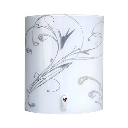 Applique Seynave 'Angela' blanc/gris 40 W