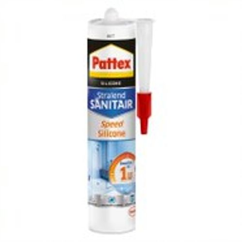Pattex voegkit Sanitair Speed Silicone wit 300ml