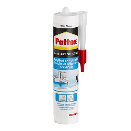 Pattex voegkit Acrylbad- & Douche grijs 300ml