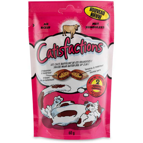 Catisfaction rund 60 gram
