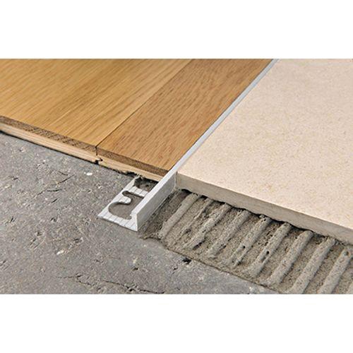 Profilé Progress profiles 'Proterminal' aluminium 10 mm 270 cm carré