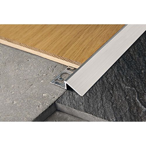 Profilé raccord Progress profiles 'Proslider' aluminium 8 mm 270 cm