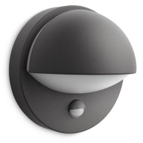 Philips applique LED June avec détecteur de mouvement 12W