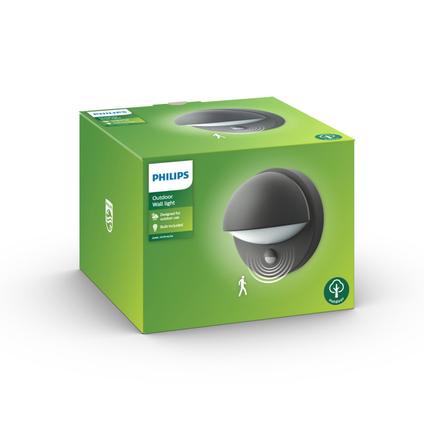 Philips muurverlichting LED June met bewegingssensor 12W